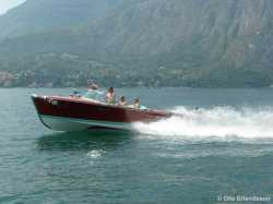 "Super Tritone #229, 1963 ""Marie"". In Sweden since many years, but here at Lake Como in 2009."